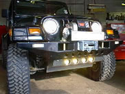 Rokraider Bash Plate fitted with PIAA 1200 Series Lighting Kit